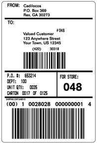 fedex label template word top 4 layouts of shipping label templates word templates