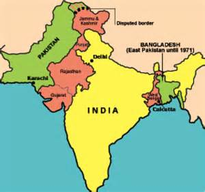 India Pakistan Map by A Quick Overview Of Indo Pakistanian Relations Think Spot