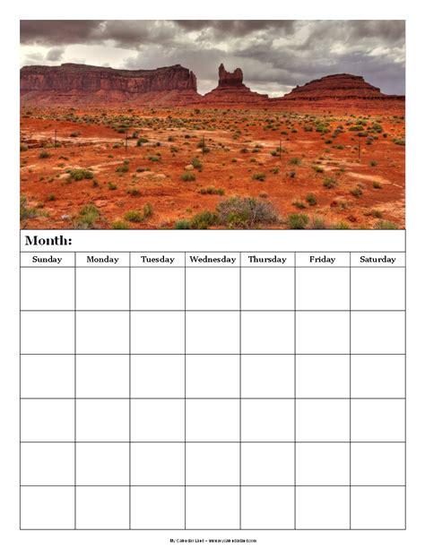 Calendar 6 Weeks Blank Calendar 6 Weeks