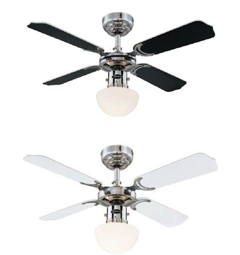 36 ceiling fan with light westinghouse portland ambiance 36 inch 90cm chrome ceiling