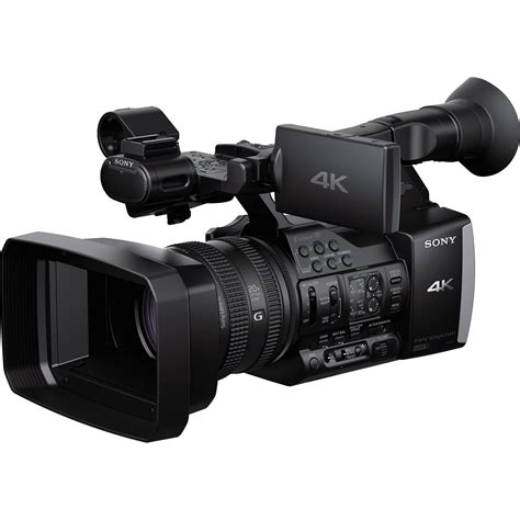 4k digital sony fdr ax1 digital 4k recorder fdr ax1 b h