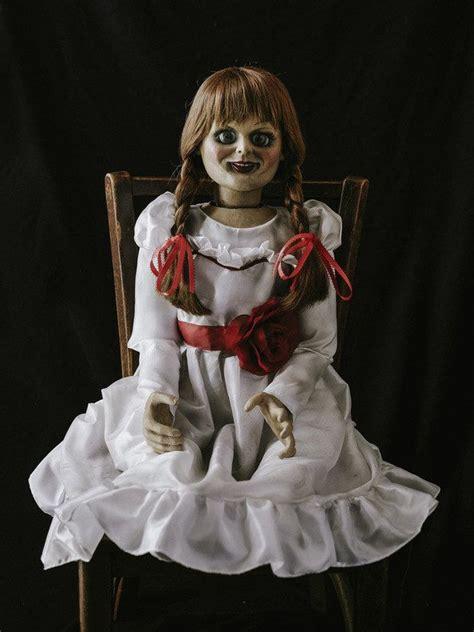 annabelle the conjuring die besten 25 conjuring doll ideen auf pinterest