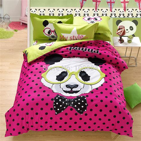 Panda Bed Set by King Size Panda Bedding Mattress Cover Fitted