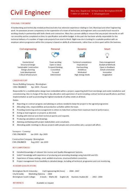 Resume Format Of Civil Engineer Civil Engineering Cv Template Structural Engineer