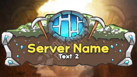 minecraft server logo template  prison youtube