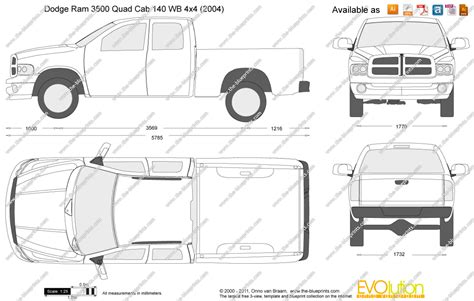 Dodge Ram 1500 Bed Size by Dodge Ram 1500 Cab Bed Dimensions Sketch Coloring Page