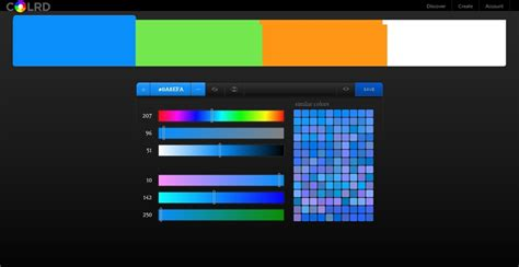 color palette creator palette creator