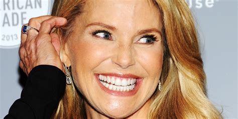 60nyear old with hair extentions christie brinkley s anti aging secret clip in hair