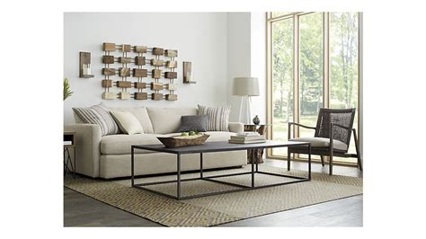 crate and barrel lounge ii petite 93 quot sofa crate and barrel