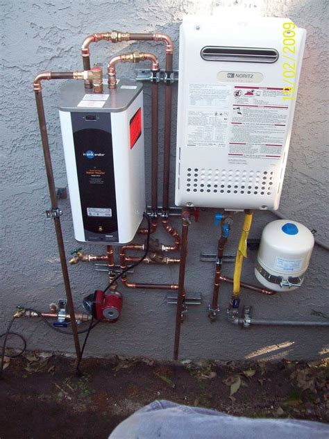 culver city tankless water heater plumbing installation