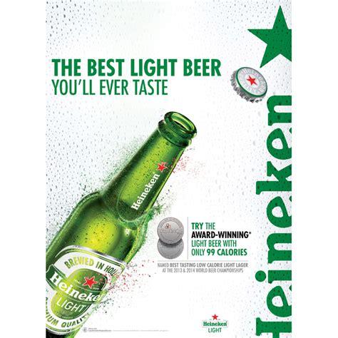 best tasting light 2017 heineken launches best tasting light program