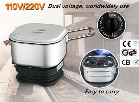 dual voltage kitchen appliances dual voltage wordwidely use travel cooker portable mini