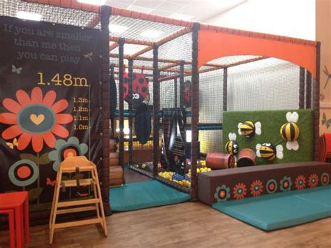 soft play area adjacent   cafe picture