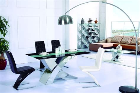 Dining Table China New Products Stainless Steel And Tempered Glass Dining Table Buy Glass Dining Table
