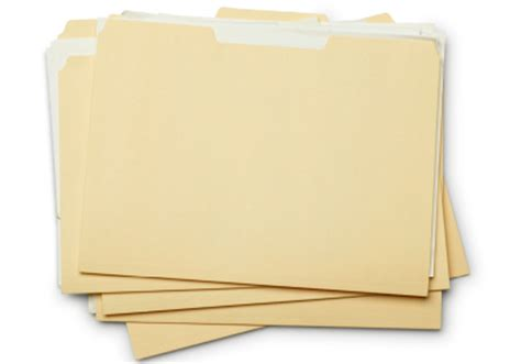 How To Make A Paper File - zap the clutter