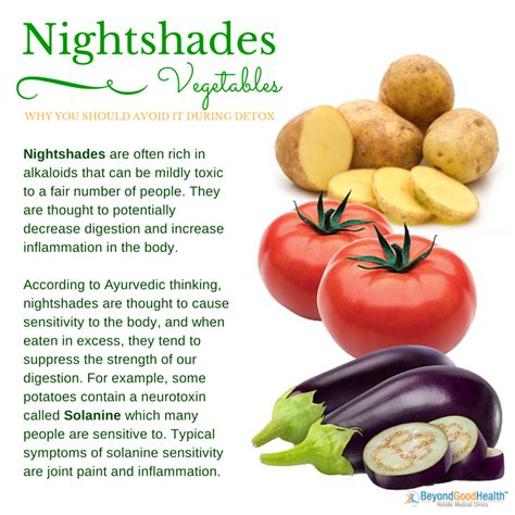 Nightshade Detox by 5 Essential Tips To Prepare Yourself For Detox
