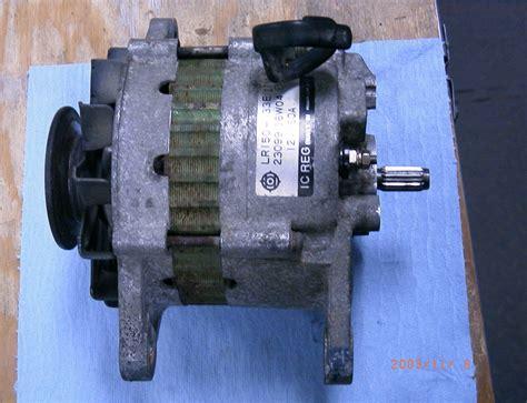nissan vanette alternator wiring diagram efcaviation