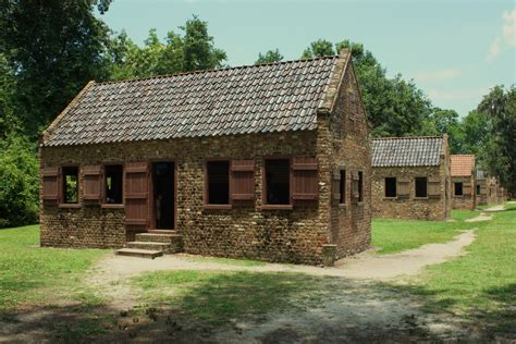 houses with in quarters boone plantation quarters located flickr