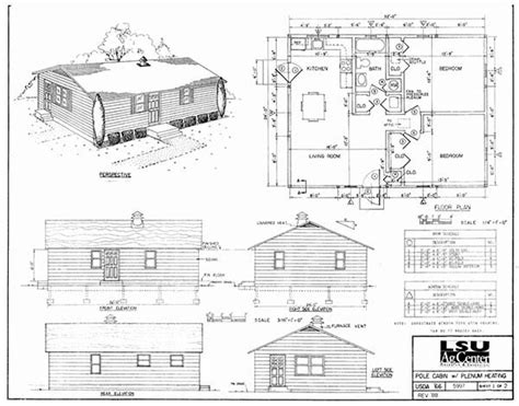 Log Cabin Style House Plans by 30 Diy Cabin Amp Log Home Plans With Detailed Step By Step
