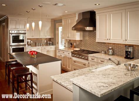 of river white granite countertops and interiors