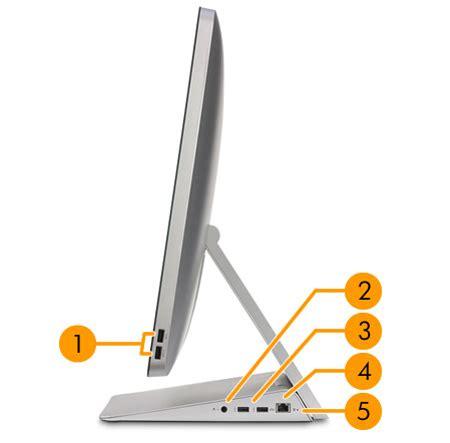 hp envy recline 23 specs hp envy recline touchsmart 23 k027c all in one desktop pc