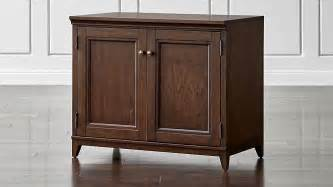 harrison 36 quot cherry base cabinet with doors crate and barrel