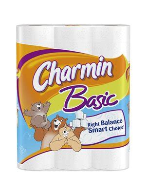 What Company Makes Charmin Toilet Paper - procter gamble 87147 charmin basic rolls 48 count