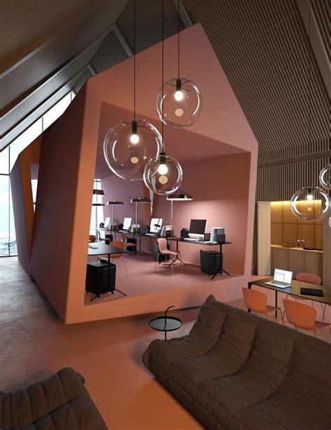 concept bureau het kantoor je dromen attic brekend