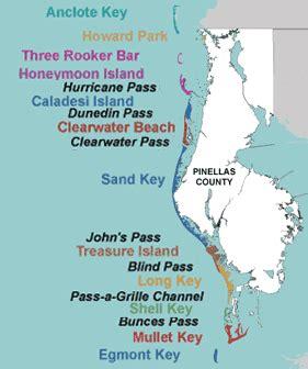islands of the florida map pinellas county florida news environment coastal
