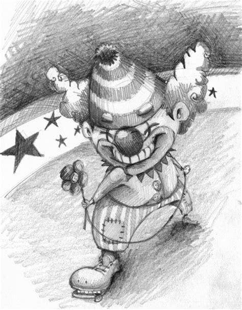imagenes para dibujar a lapiz de payasos dibujos de payasos diabolicos a lapiz para imprimir