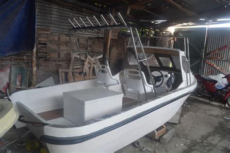 yacht dijual di indonesia kapal fiber buatan indonesia sport fishing 5 5 meter