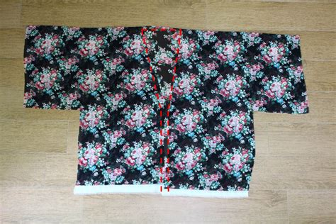 kimono jacket pattern diy diy 1 hour kimono cardigan peabrain diy