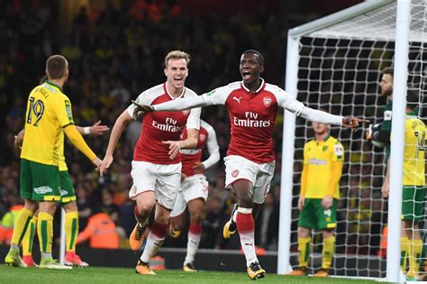 arsenal nketiah arsenal 2 1 norwich match analysis history making eddie
