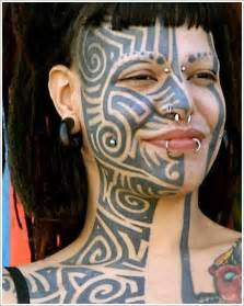tribal full face tattoo designs for lil wayne face