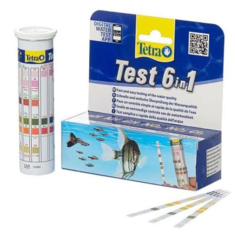Tetra Test Ph By Jo Aquarium tetratest 6 in 1 teststreifen wassertest g 252 nstig bei zooplus