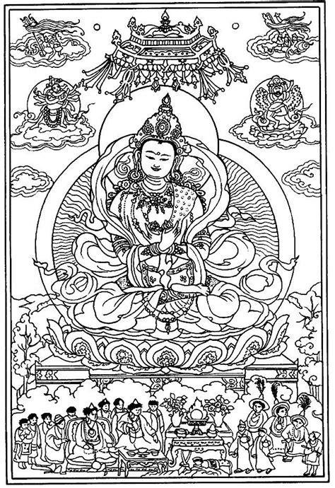 tibetan mandala to color google search mandalas and