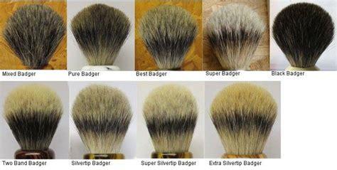 diversi tipi di barba rassegna di diversi tipi di pennello da barba in tasso e