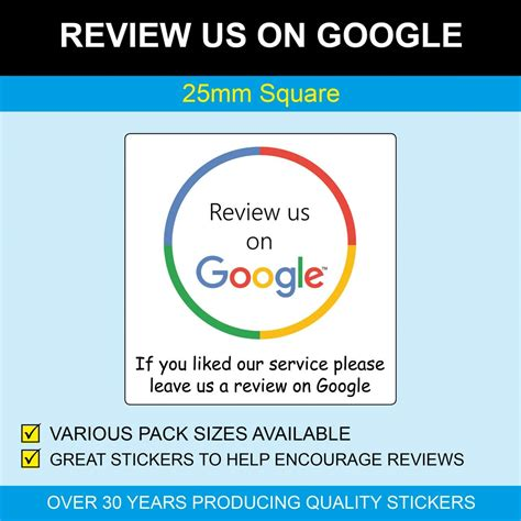 review   google stickers mm square   square