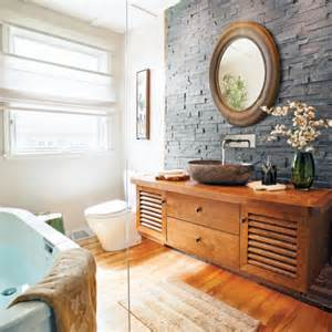 davaus net idee salle de bain zen et nature avec des