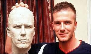 beckham hair wax bbc news england beckham s brilliance preserved in wax