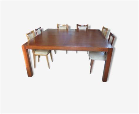 Grande Table Salle à Manger 12 Personnes by Grande Table Carr 233 E 12 Personnes Bois Mat 233 Riau