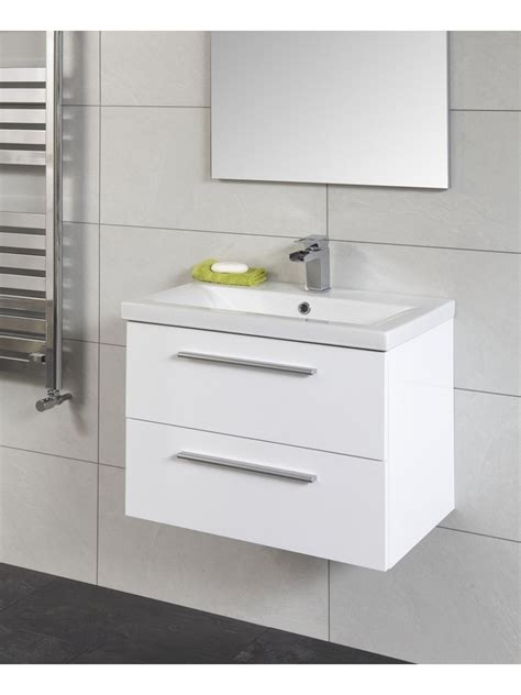 Slimline Bathroom Furniture Units Otto 60 Wall Hung Vanity