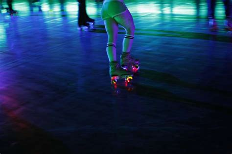 light up roller skates roller skating lessons at church of 8 wheels sfgate