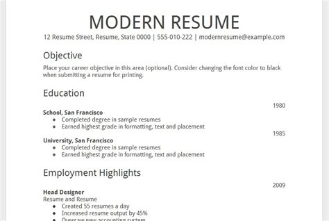 2014 resume templates learnhowtoloseweight net