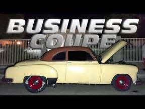 Why Did Pontiac Go Out Of Business Out For This 1951 Chevy Business Coupe The