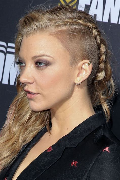 natalie dormer haircut natalie dormer haircut cerca con undershaves