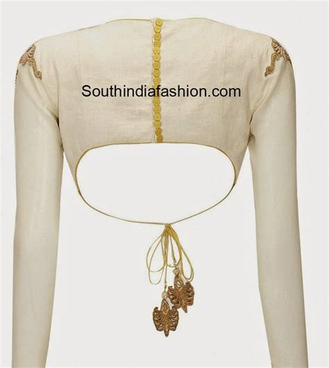 Blouseblack Eky boat neck blouse with buttons on back indian fashion