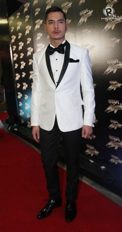 jake cuenca cut styles now the men singles at the star magic ball 2013 red carpet