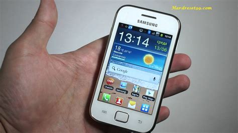 reset samsung duos to factory settings samsung sch i589 ace duos hard reset factory reset and