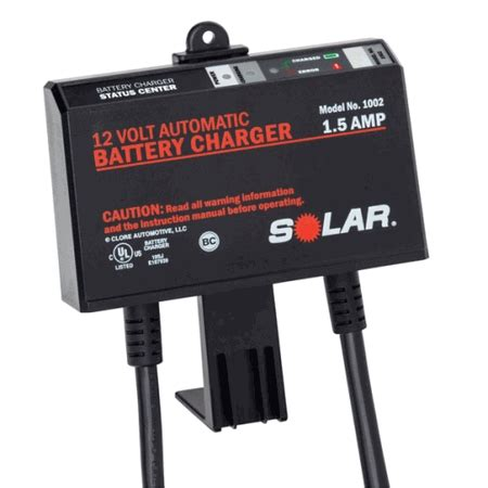 automatic solar charger solar 1002 1 5 12v automatic onboard battery charger